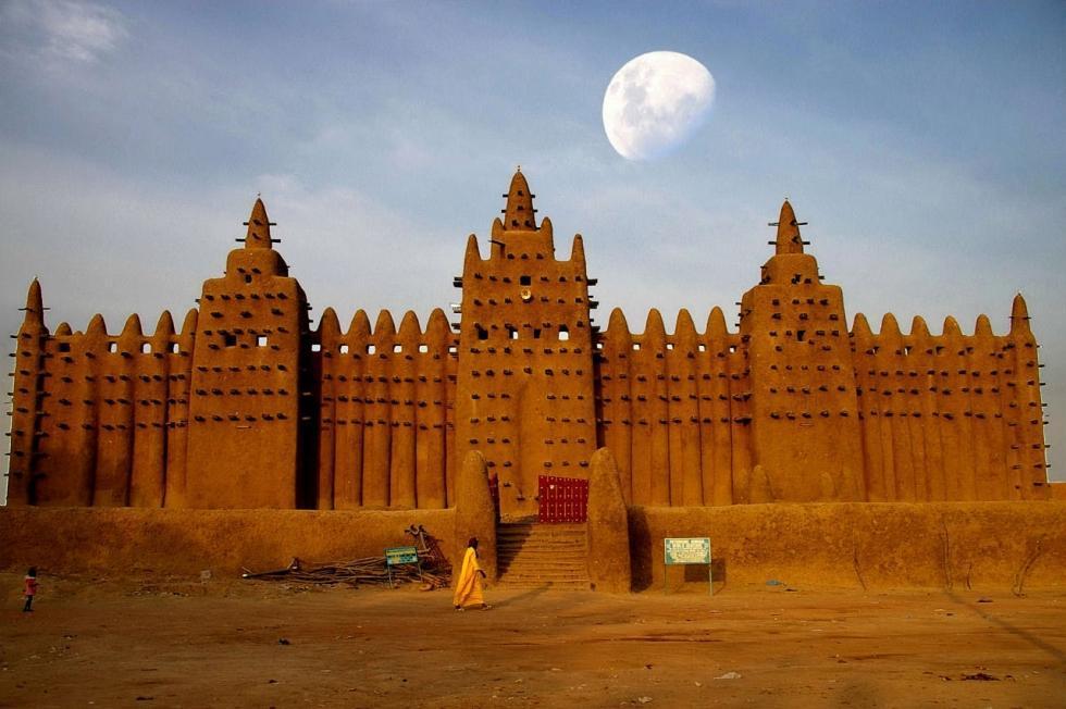 مسجد بزرگ Djene در مالی