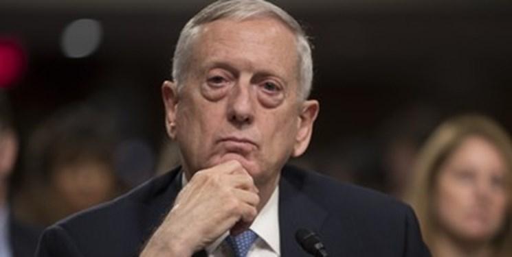 متیس: کشورهای منطقه باید جبهه یکپارچه ای برای مقابله با ایران تشکیل دهند