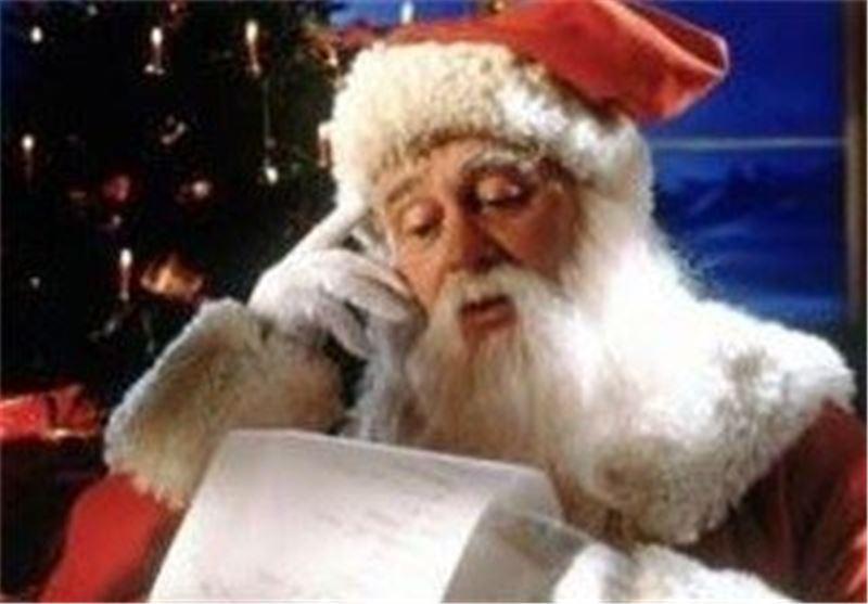 بابا نوئل با پیغام فقر می آید