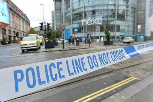 حمله با چاقو در منچستر؛ 4 نفر زخمی شدند
