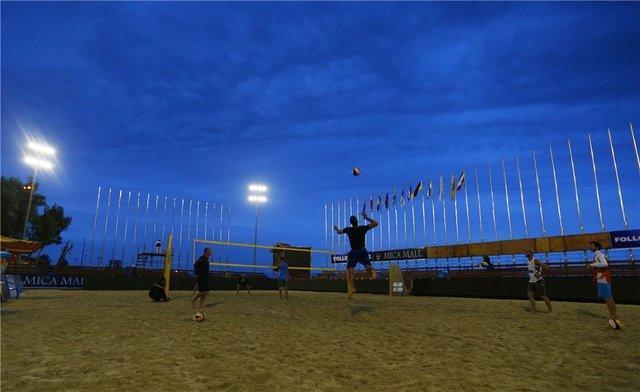 صعود والیبالیست های ساحلی ایران به جمع 16 تیم برتر تور قطر