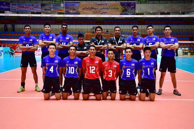 تقدیر فدراسیون والیبال مالزی از میزبانی فدراسیون ایران
