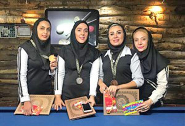 منصوره نورآباد مطلق قهرمان رنکینگ ناین بال شد