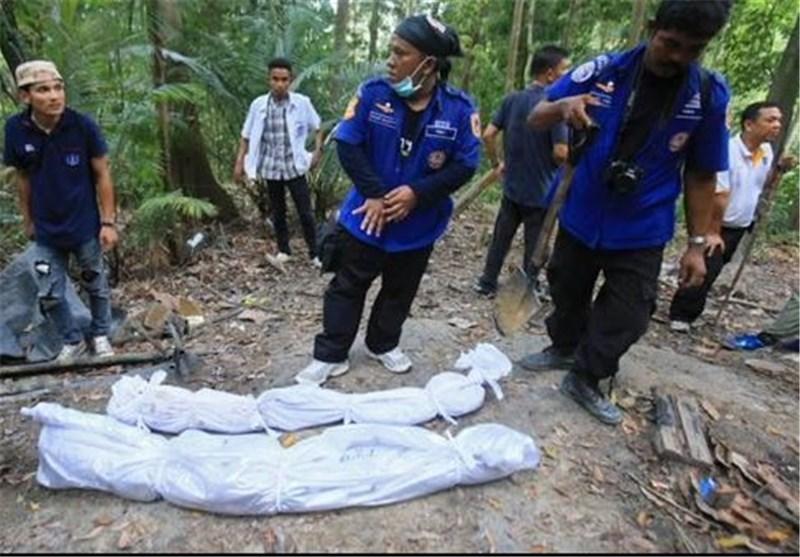 کشف گورهای دسته جمعی متعلق به مهاجران میانمار در شمال مالزی