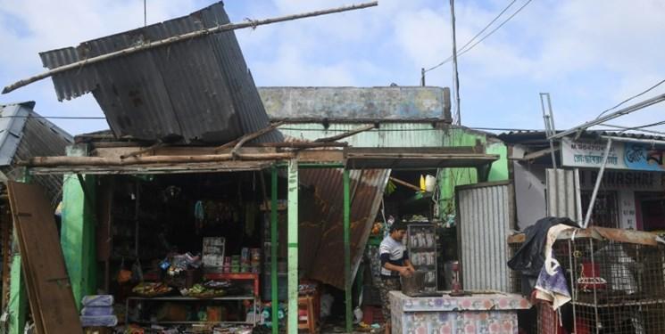 عکس، طوفان بلبل در هند و بنگلادش 14 کشته بر جا گذاشت
