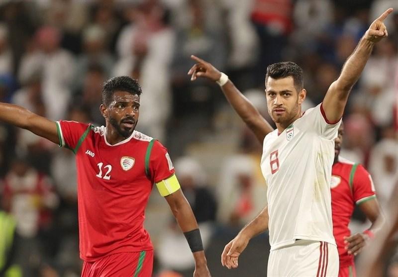 هافبک عمان در بازی های ملی از الدعیع عبور کرد