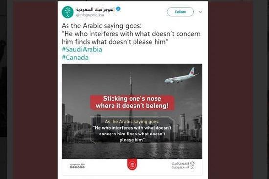 تهدید سعودی ها علیه کانادا به سبک 11 سپتامبر