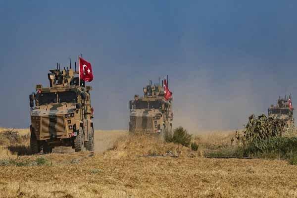 ترکیه از شروع پروازهای شناسایی در امتداد مرز سوریه اطلاع داد