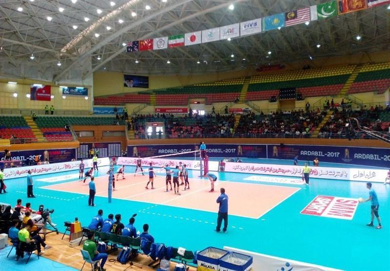 تیم والیبال امید چین تایپه مغلوب تایلند شد