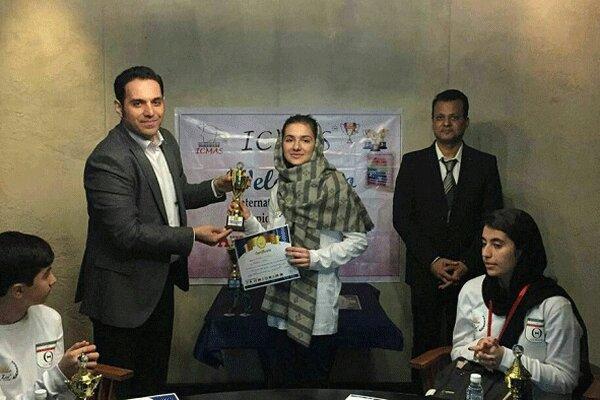 دانش آموز ایرانی، برنده مسابقات جهانی ریاضی در هندوستان