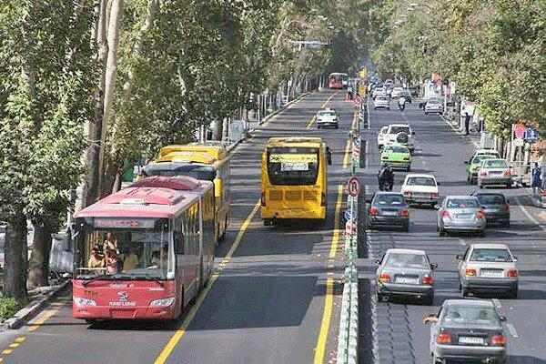 فروش ساعتی جایگاه اتوبوس های پایتخت ، شروع آزمایشی در دو خط شلوغ