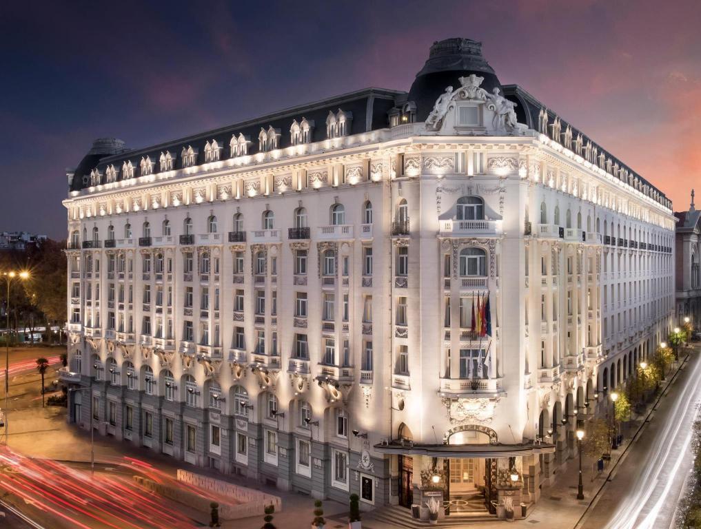 اقامت در هتل وستین پالاس مادرید