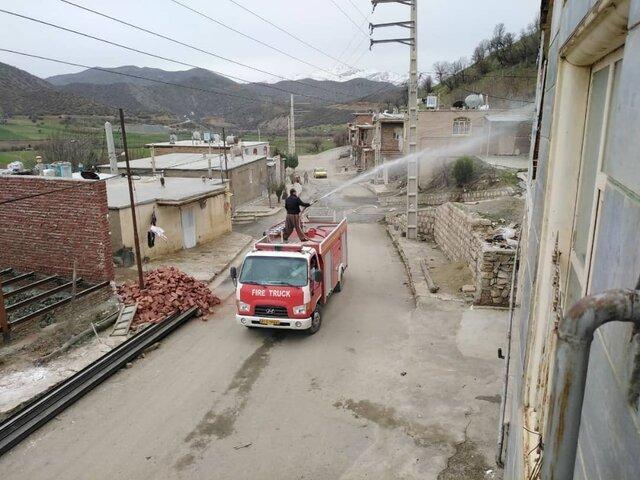 جنبش همبستگی روستاییان کردستان علیه اپیدمی کرونا فراگیر شد