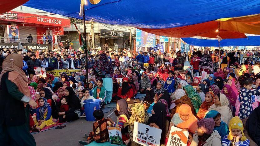 خبرنگاران اعتراضات در دهلی با وجود ممنوعیت تجمع ادامه دارد