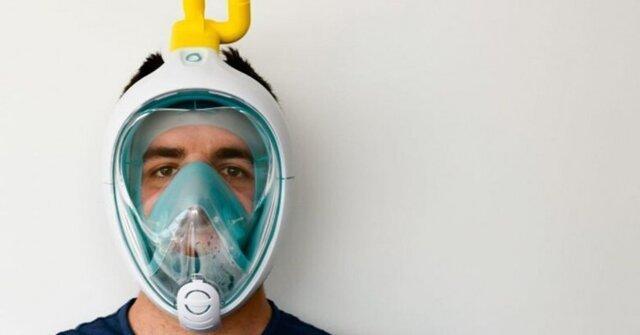 تبدبل ماسک غواصی به ماسک تنفس مصنوعی