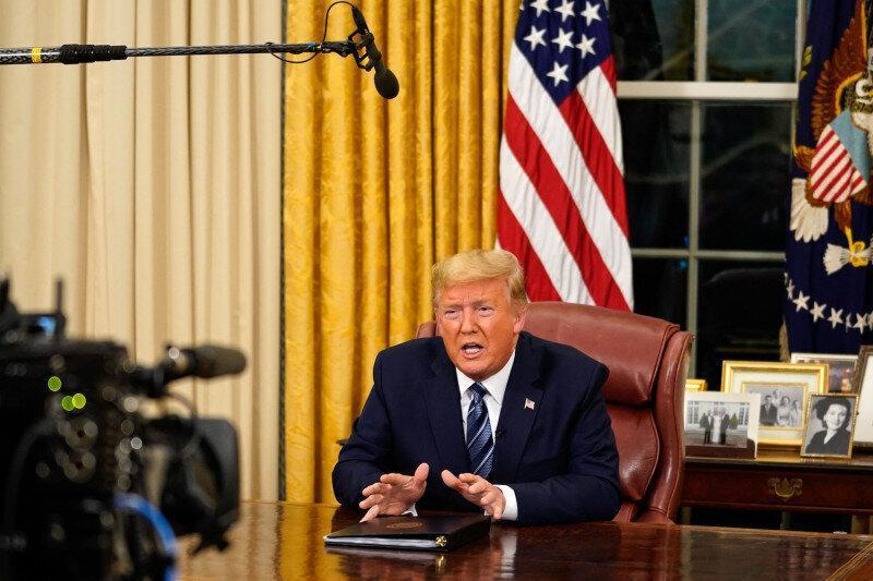 ترامپ:چین برای باختم دست به هر کاری می زند