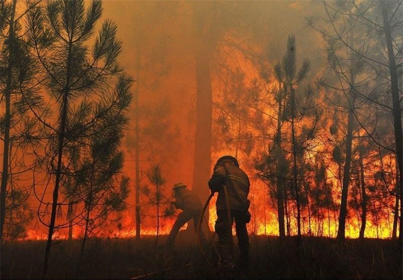 یک کشته در آتش سوزی گسترده غرب استرالیا