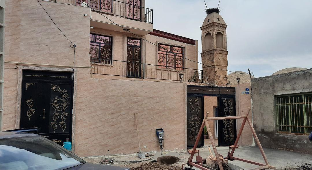خبرنگاران عملیات برطرف مشکل نفوذ فاضلاب به مسجد تاریخی باغخواص ورامین شروع شد