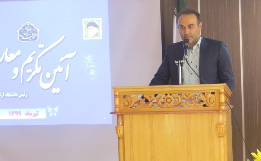 سرپرست دانشگاه آزاد اسلامی واحد مهدیشهر منصوب شد