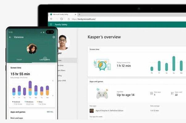 اپلیکیشن مایکروسافت برای محافظت از بچه ها در اینترنت