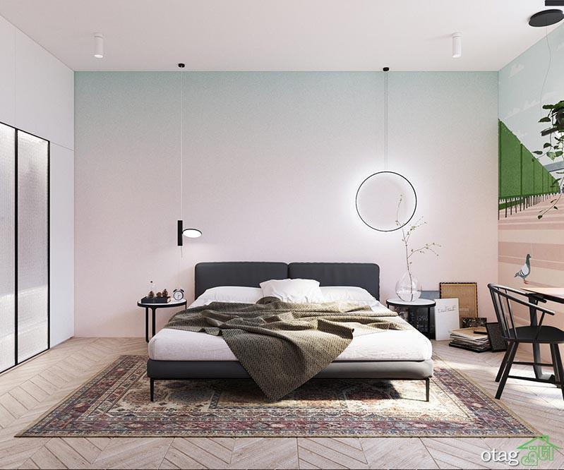 رنگ آمیزی خانه های کوچک برای مساحت های 40 متری و کمتر