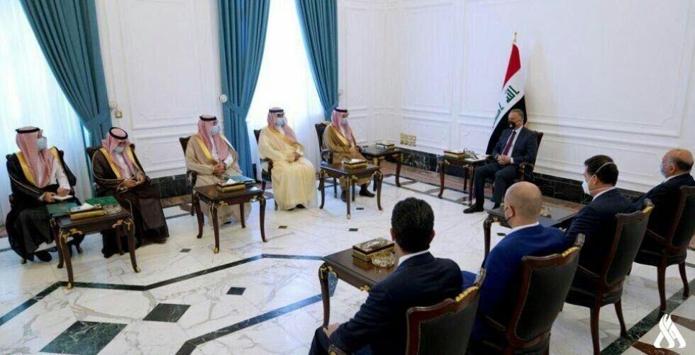 در دیدار وزیرخارجه عربستان با الکاظمی چه گذشت؟