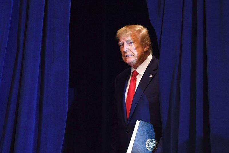 نیویورک تایمز با انتشار اسنادی زهر خود را به ترامپ ریخت