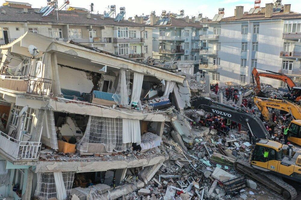 آمار اولیه از زلزله ازمیر