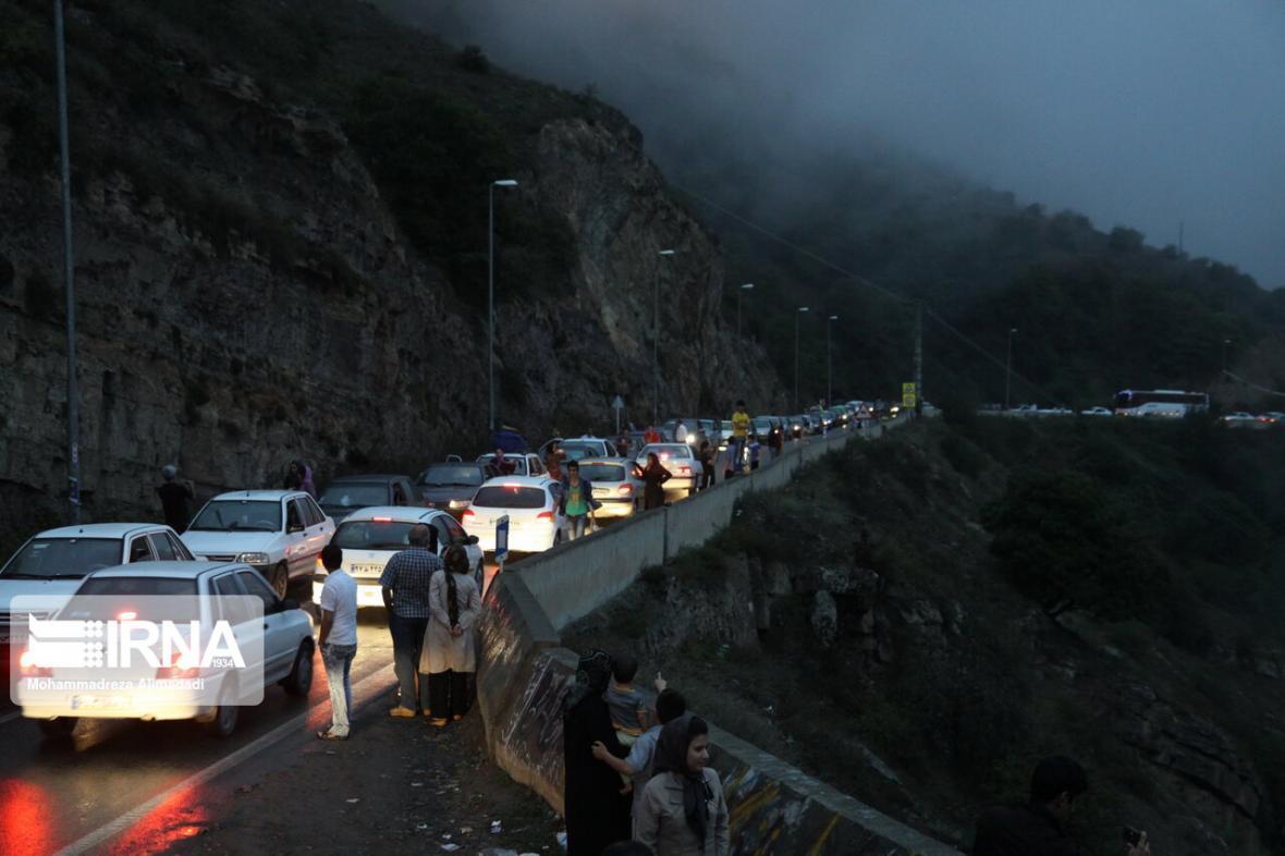 خبرنگاران ترافیک در جاده های مازندران سنگین و پرحجم شد