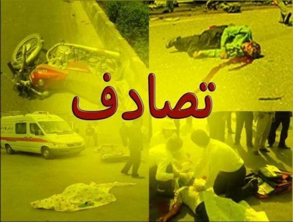 یک کشته و 3مصدوم طی برخورد سمند با کامیون خاور در محور یاسوج-بابامیدان