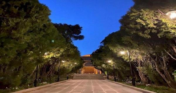 سامان دهی روشنایی مجموعه تاریخی فرهنگی شیخ ابوالحسن خرقانی