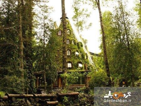 لامونتانا مجیکا ؛ هتلی که مانند یک آتشفشان ساخته شده