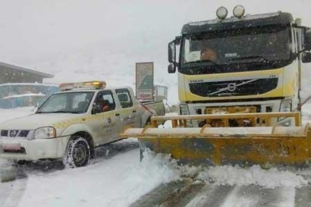 برف و باران در جاده های 13 استان ، 11 جاده مسدود است