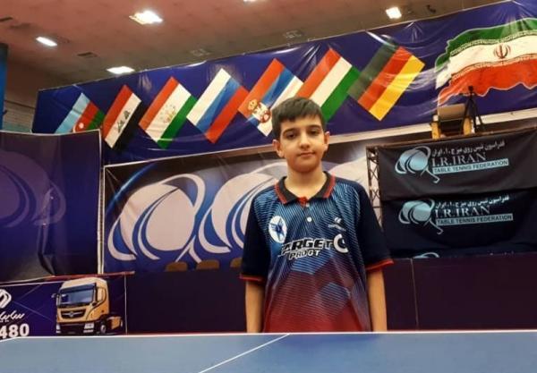 بازیکن 11 ساله دانشگاه آزاد اسلامی در لیگ برتر تنیس روی میز تاریخ ساز شد