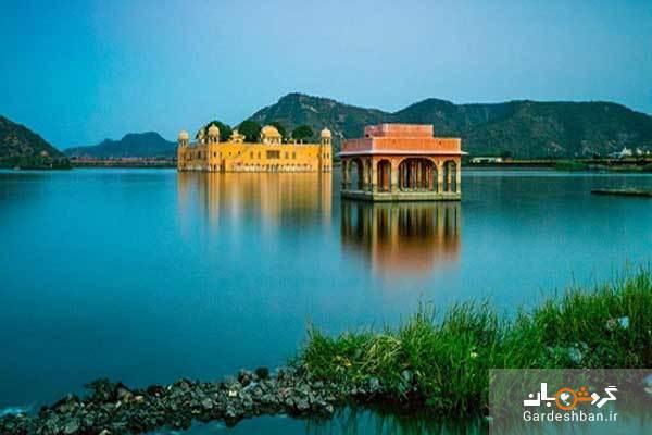 کاخ شناور جال محل؛از بی نظیر ترین جاذبه های هند