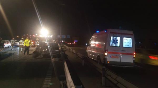 خبرنگاران تصادف پرایدها در محور سمنان- گرمسار سه کشته برجا گذاشت