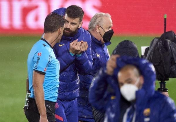 پیکه به داور بازی رئال مادرید - بارسلونا چه گفت؟