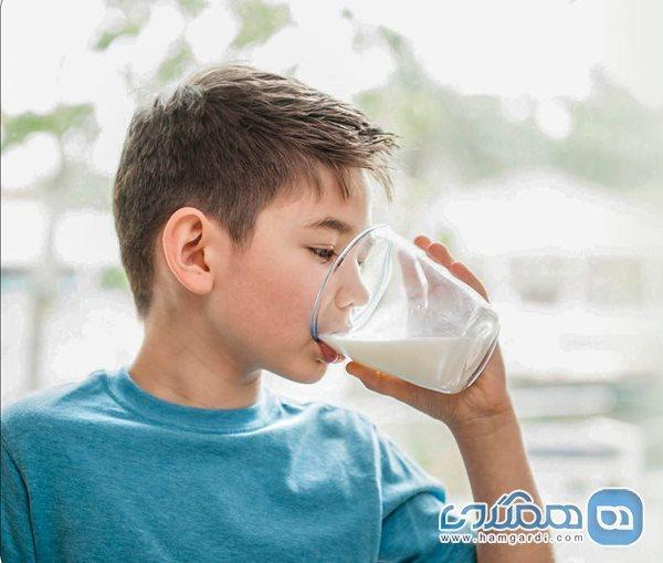 پیامدهای مصرف کم شیر در بچه ها