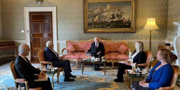 دیدار ظریف با رئیس جمهور ایرلند