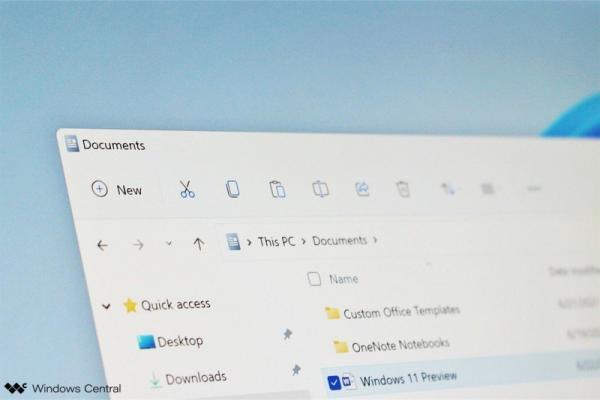 مایکروسافت برای ویندوز 11 یک فایل اکسپلورر تازه و مدرن طراحی نموده است