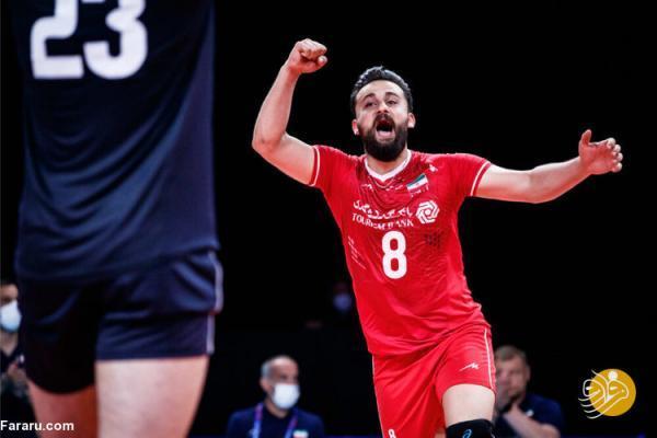 والیبال ایران - آلمان؛ بازی نهم، برد ششم؟