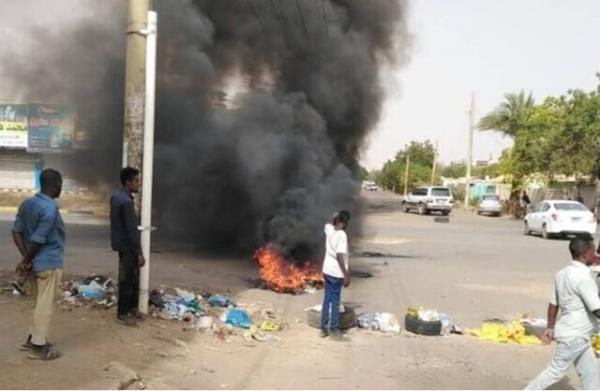 تظاهرات سودانی ها در اعتراض به حذف یارانه سوخت