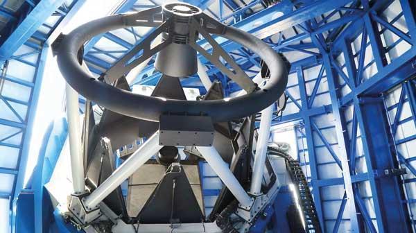 رصدخانه ملی افتتاح شد؛ با تلسکوپی که آینه نداشت!