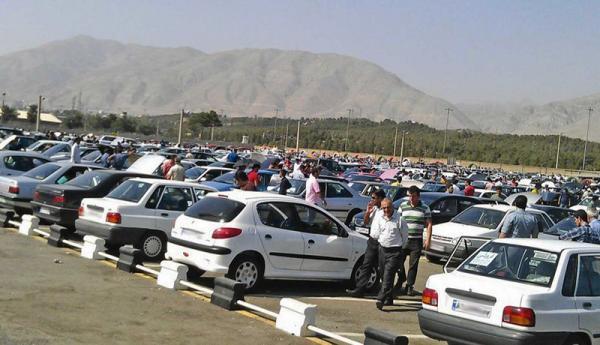 رکود در بازار خودرو ، کاهش قیمت همه خودروها